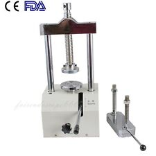 FDA Dental Dentistry Lab Hydraulic Press Flask Presser Pressure Lifting Device