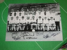 Tottenham Hotspur FC Spurs 1984 Squad Photograph Signed by 12 Players & Staff!