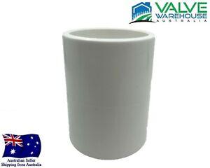 "Coupling Socket - Pressure PVC - 15mm (1/2"") - 150mm (6"")"