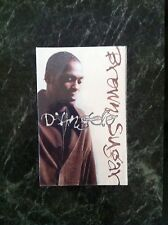 "D'Angelo ""Brown Sugar"" EP [Single] [PA] (Cassette, May-1995, EMI MusiC SEALED"