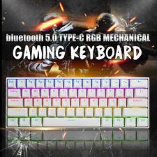 FEKER Type-C Mechanical Gaming Keyboard LED RGB Backlit 60% ANSI Brown Switch UK