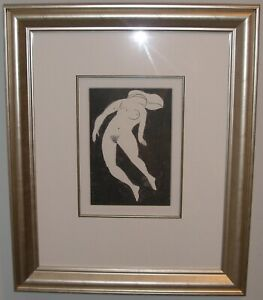 Charles Blackman (1928-2018) Nude Study Gallery Quality AAA Beautifully Framed