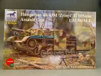 Bronco CB35036  1/35 Hungarian 40/43M ZRINYI II 105 mm Assault Gun