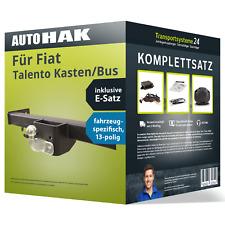 Anhängerkupplung starr für FIAT Talento Kasten/Bus +E-Satz NEU inkl. EBA