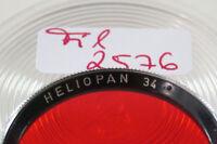 Original Heliopan Orange Filter Lens Aufsteck Push-on A-34mm 34Ø 2576/8