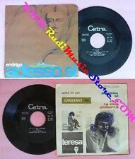 LP 45 7'' SERGIO ENDRIGO Adesso si Io e la mia chitarra 1966 CETRA no cd mc vhs