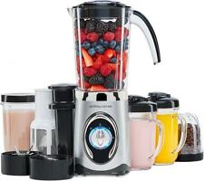 Andrew James Smoothie Maker 4 in 1 Blender Crusher Juicer Grinder Travel Cups