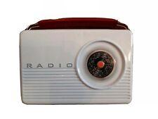 retro radio style storage tin