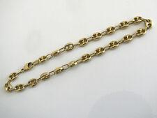 Bracelet grains de café or 18 K (=750) 20 cm Belle occasion