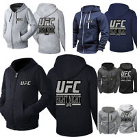UFC Fighting Night Live Hoodie Boxing Gym Workout Sweatshirt Top Fighting Night