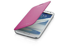 Samsung Galaxy Note 2 Flip Cover Case (Pink)