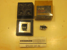 SHURE V15 TYPE III CART AND GENUINE SHURE VN-78E STYLUS IN BLACK DISPLAY CASE