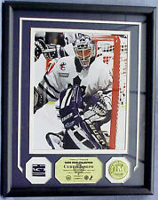CURTIS JOSEPH, Game Used Stick Photo Display Limited to 131, Toronto Maple Leafs