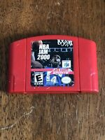 NBA Jam 2000 Nintendo 64 N64 Basketball Game Cart Authentic TESTED! Works Great