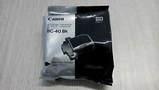 Cartuccia inchiostro Canon BC-40 BK originale nero 1500 copie CLC7/10/CJ7/10