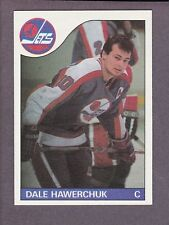 1985-86 Topps Hockey Dale Hawerchuk #109 Winnipeg Jets NM/MT
