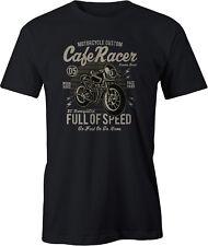 Cafe Racer Motorbike T Shirt Motorcycle Retro