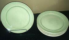 "(7) Pottery Barn CAMBRIA CELADON 9 1/2"" Salad Plates *******"