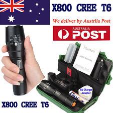 20000lm Flashlight X800 Shadowhawk Xm-l T6 LED Tactical Torch 18650 Battery
