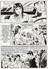 LA LOUVE WEEKEND A PEKIN  (RENAUD) PLANCHE ORIGINALE AREDIT PAGE 104