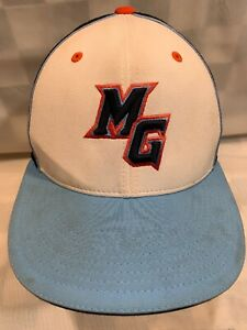 MG Letters Logo Fitted S/M Adult Baseball Ball Cap Hat