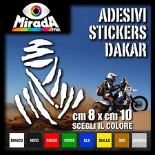 Adesivo/ Stickers DAKAR PARIS DAKAR AFRICA TWIN IVECO CAGIVA KTM TOP QUALITY