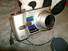 Panasonic LUMIX DMC-TZ1 5.0MP Digital Camera - Silver