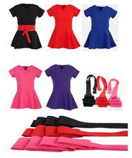 V Neck Beauty Hairdressing SPA Nail Salon Therapist Massage Tunic Uniform CVTB