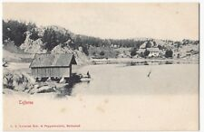Sweden; Tofterna, Shows Boathouse PPC, Unposted, Undivided Back, c 1900-05