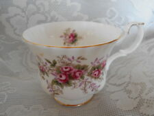 DOULTON ROYAL ALBERT Lavender Rose Montrose Bone China Footed Tea Cup - England
