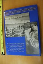 EARLY CALIFORNIA SURFRIDERS Dale Velzy Autographed Rare 1995 Vintage SURF BOOK