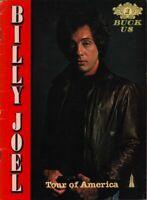 BILLY JOEL 1979 TOUR OF AMERICA CONCERT PROGRAM BOOK BOOKLET / VG 2 NEAR MINT