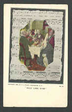 Ca 1906 VINTAGE PPC AULD LANG SYNE USED NOT POSTED