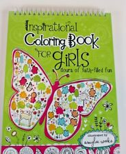 Inspirational Coloring Book Drawing for Girls Christian Bible Scriptures Gift