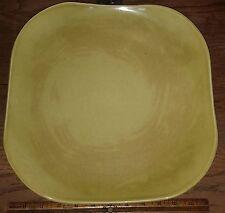 "Vintage RUSSEL WRIGHT STEUBENVILLE 13"" Chop Plate Platter - Chartreuse"
