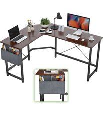 L-shaped Computer Study Desk Office Table Workstation Large Ship To PR