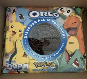 Limited Edition Pokemon Oreos! Sold Out!