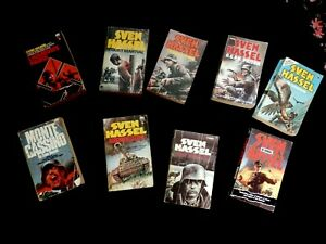 JOB LOT OF 8 SVEN HASSEL PAPEPBACK BOOKS USED