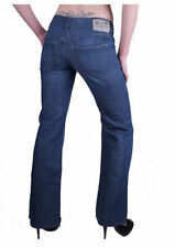 Diesel Cotton Bootcut Low Rise Jeans for Women