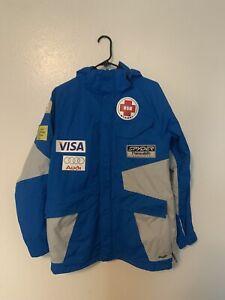 Spyder US Ski Team Thinsulate Medical Audi Visa Jacket-mens Size Small