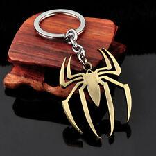 Marvel Sony 3D Spiderman Pewter Key Chain Key Ring Charm Keychain Bronze Silver