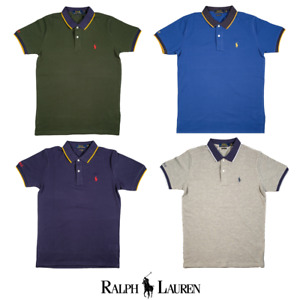 Ralph Lauren Classic Small Pony Polo With Tipped Collars NWT AU