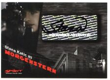 2008 Inkworks The Spirit AUTO/Autograph STANA KATIC as Morgenstern