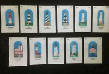 Hand-painted Needlepoint Canvas Colorful Lighthouse/Select From 11 Designs
