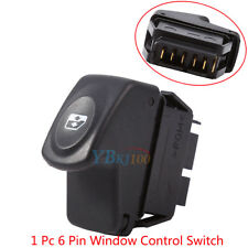 1* 6 Pins Car Power Window Control Switch For Renault Clio II 2 Megane I Kangoo