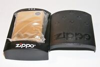 Gold Tone ZIPPO LIGHTER H-06 August 2006 NIB Unstruck With Case And Paperwork