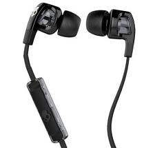 SKULLCANDY S2PGfY-003 Earbud Headphones&Mic Answer Phone Fit Iphone Ipod Android