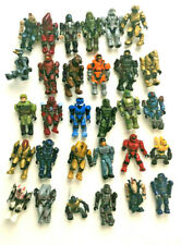 Lot of 30 Complete + 10 Incomplete + Extra Halo Mega Block Construcx Figures