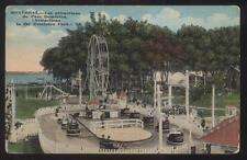 Postcard MONTREAL Quebec/CANADA  Dominion Park Ferris Wheel/Cart Ride view 1907?