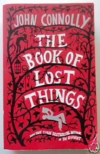 THE BOOK OF LOST THINGS by John Connolly, New York Times Bestselling Author, PB